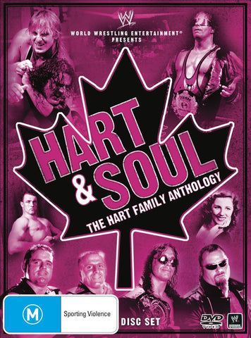 HART AND SOUL HART FAMILY ANTHOLOGY 3DVD VG