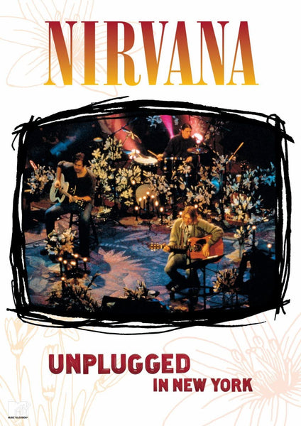NIRVANA-MTV UNPLUGGED IN NEW YORK DVD VG