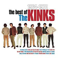 KINKS THE-THE BEST OF THE KINKS 1964-1970 LP VG+ COVER VG+