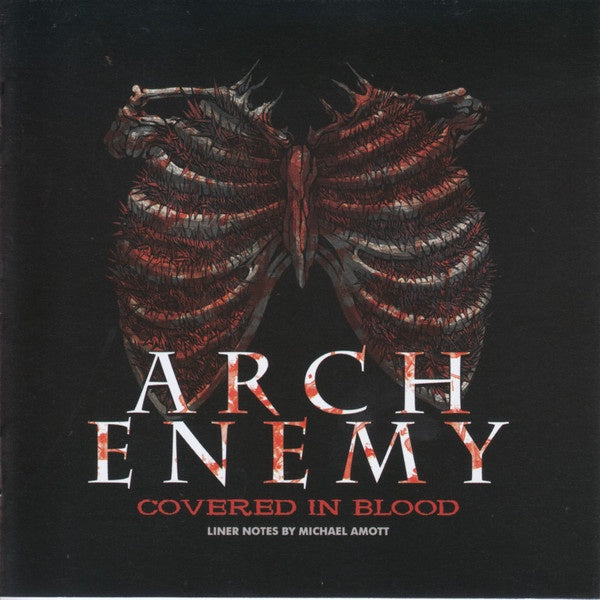 ARCH ENEMY-COVERED IN BLOOD CD *NEW*