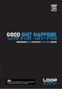 GOOD SHIT HAPPENS NZ SHORT FILMS AND MUSIC VIDEOS DVD + CD G