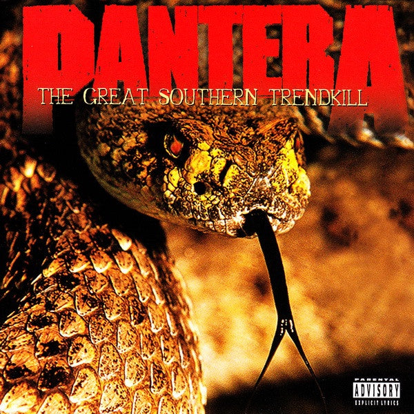 PANTERA-THE GREAT SOUTHERN TRENDKILL CD VG