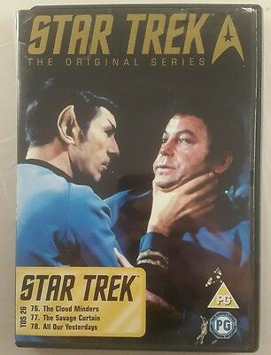 STAR TREK THE ORIGINAL SERIES DISC 26 EPS. 76,77,78 DVD NM