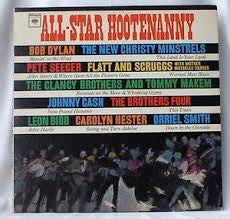ALL STAR HOOTENANNY-VARIOUS ARTISTS LP VG COVER VG