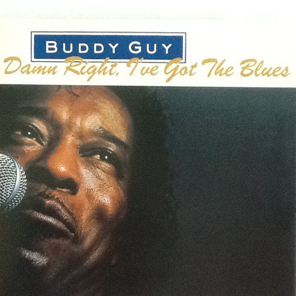 GUY BUDDY-DAM RIGHT, I'VE GOT THE BLUES CD VG