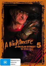 A NIGHTMARE ON ELM STREET 5-THE DREAM CHILD DVD VG