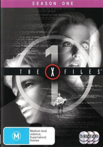 X FILES SEASON ONE 6DVD VG