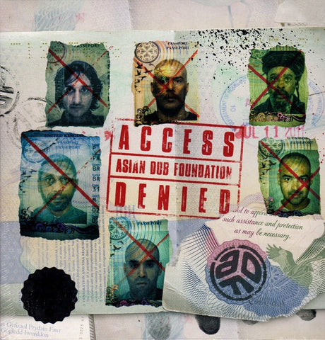 ASIAN DUB FOUNDATION-ACCESS DENIED 2LP *NEW*