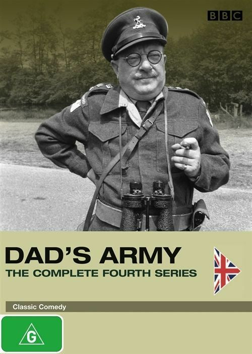 DAD'S ARMY THE COMPLETE FOURTH SEASON 2DVD VG