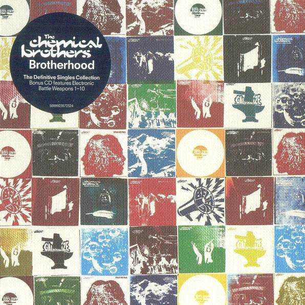 CHEMICAL BROTHERS THE-BROTHERHOOD SINGLES COLLECTION 2CD VG