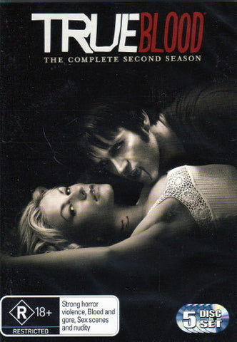 TRUE BLOOD THE COMPLETE SECOND SEASON R18 5DVD G