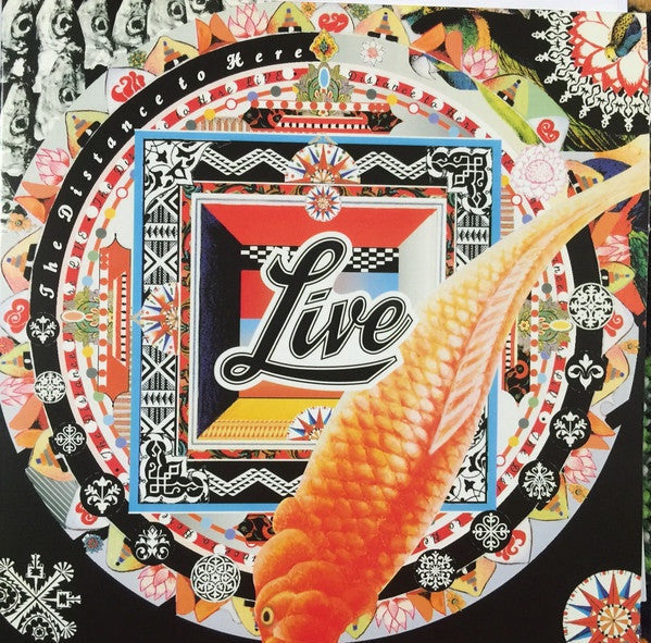 LIVE-THE DISTANCE TO HERE ORANGE VINYL *NEW*