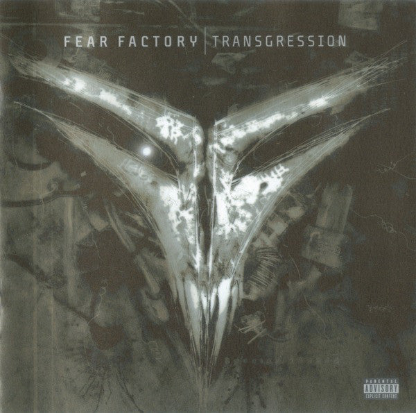 FEAR FACTORY-TRANSGRESSION CD+DVD VG