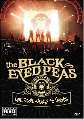 BLACK EYED PEAS THE-LIVE FROM SYDNEY TO VEGAS DVD *NEW*