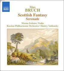 BRUCH-SCOTTISH FANTASY SERENADE CD VG