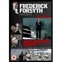 FREDERICK FORSYTH PRESENTS-JUST ANOTHER SECRET ZONE 2 DVD VG