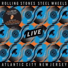 ROLLING STONES-STEEL WHEELS LIVE ATLANTIC CITY NEW JERSEY 2CD+DVD *NEW*