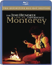 HENDRIX JIMI-LIVE AT MONTEREY DEFINITIVE EDITION BLURAY *NEW*