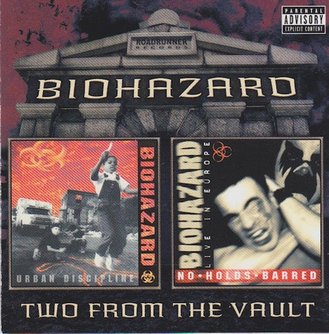 BIOHAZARD-TWO FROM THE VAULT 2CD VG