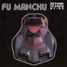 FU MANCHU-RETURN TO EARTH 91 93 BLUE VINYL LP *NEW*