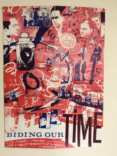 BIDING OUR TIME COMPILATION ORIGINAL PROMO POSTER