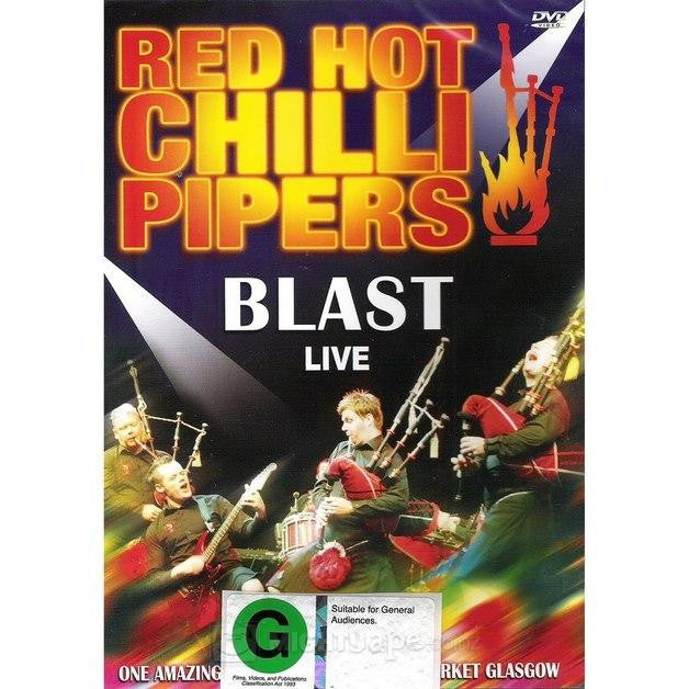 RED HOT CHILLI PIPERS-BLAST LIVE DVD *NEW*