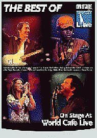 BEST OF AT WORLD CAFE LIVE-VARIOUS ARTISTS DVD *NEW*
