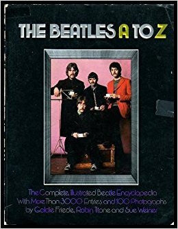 THE BEATLES A TO Z BOOK VG