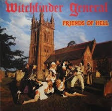WITCHFINDER GENERAL-FRIENDS OF HELL LP NM COVER VG+