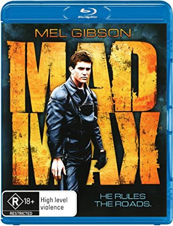 MAD MAX COLLECTOR'S EDITION R18 BLURAY VG