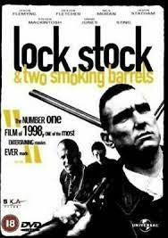 LOCK STOCK & TWO SMOKING BARRELS DVD VG