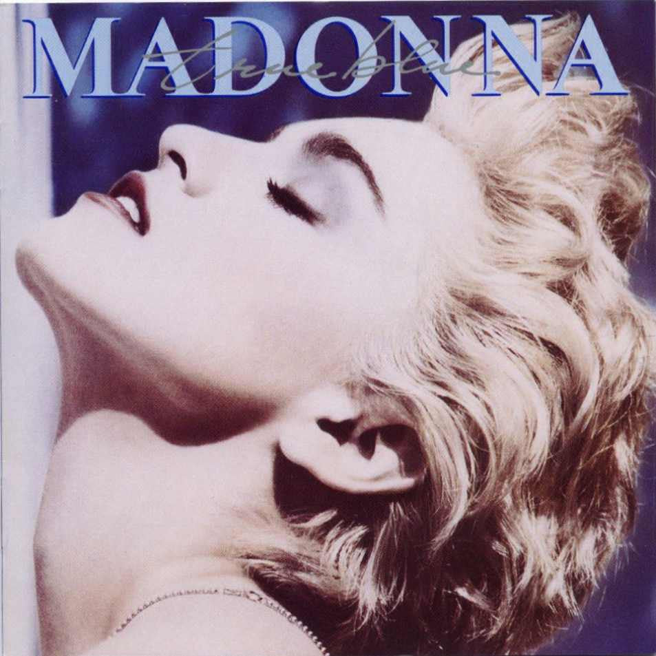 MADONNA-TRUE BLUE LP EX COVER VG+