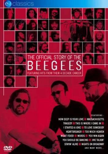 BEEGEES-THE OFFICIAL STORY OF THE BEEGEES DVD VG+