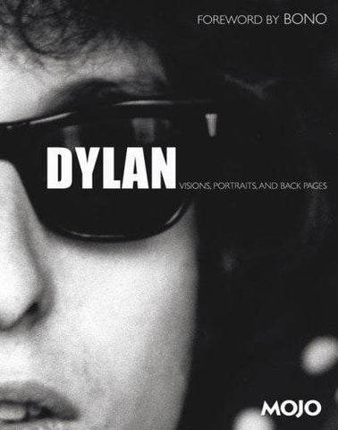DYLAN: VISIONS, PORTRAITS, AND BACK PAGES BOOK VG
