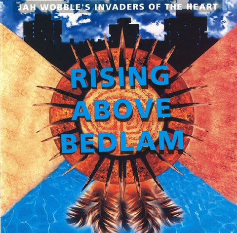 JAH WOBBLE'S INVADERS OF THE HEART-RISING ABOVE BEDLAM CD VG