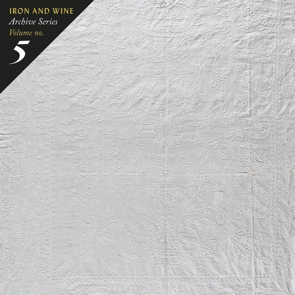 IRON AND WINE-ARCHIVE SERIES VOLUME NO. 5 YELLOW SWIRL VINYL LP *NEW*