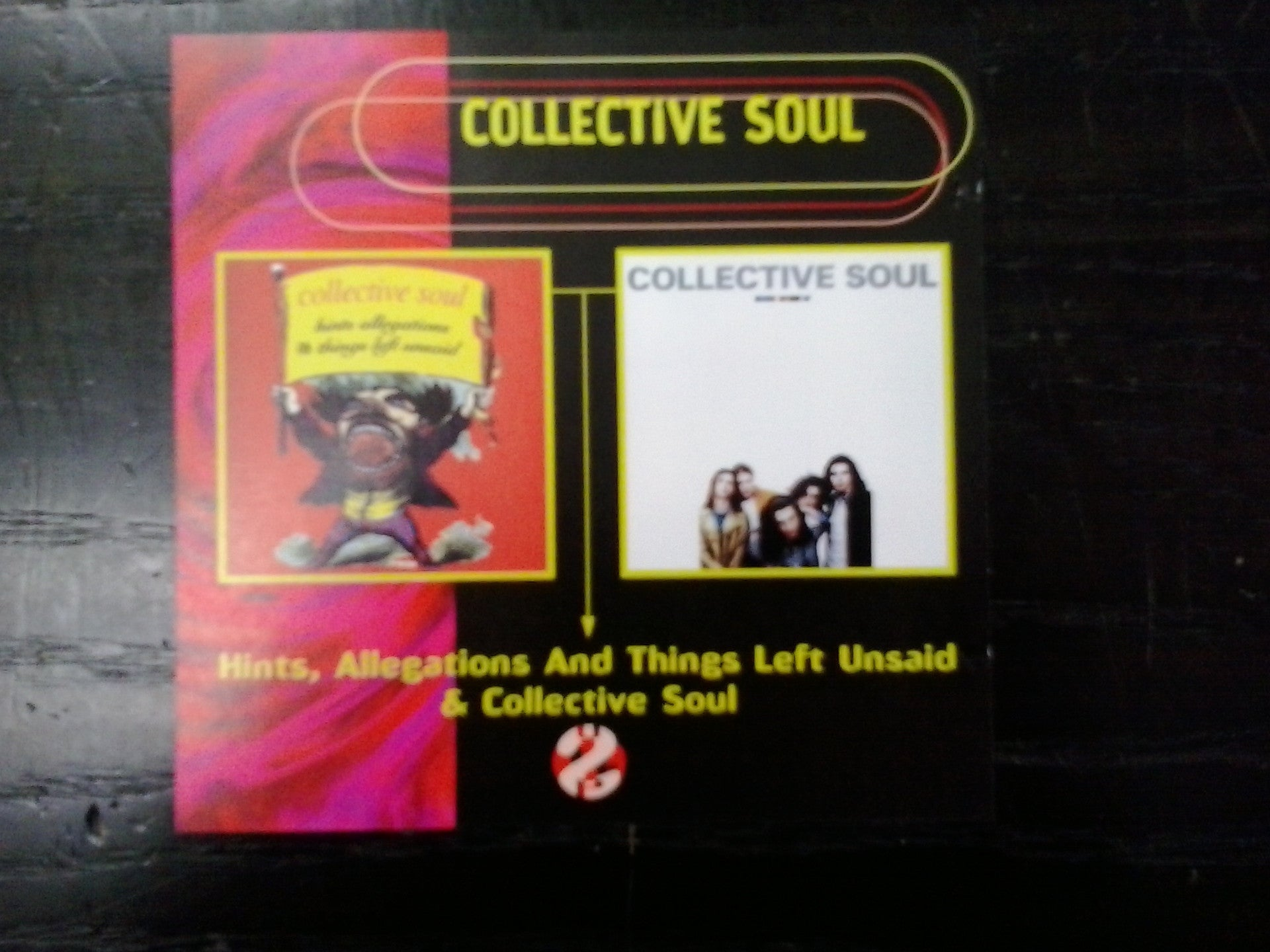 COLLECTIVE SOUL-HINTS, ALLEGATIONS...+ COLLECTIVE SOUL 2CD VG+