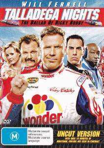 TALLADEGA NIGHTS THE BALLAD OF RICKY BOBBY DVD VG+