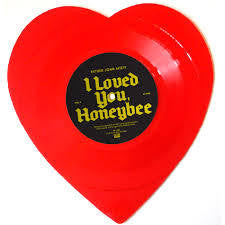 "FATHER JOHN MISTY-I LOVED YOU, HONEYBEE RSD RED SHAPED 7"" *NEW*"