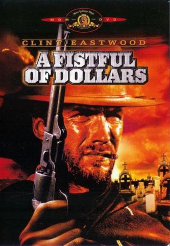 A FISTFUL OF DOLLARS DVD VG