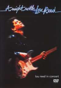 REED LOU-A NIGHT WITH LOU REED DVD VG