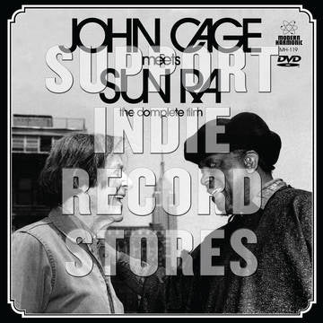 "CAGE JOHN MEETS SUN RA-JOHN CAGE MEET S SUN RA-THE COMPLETE FILM 7""+DVD *NEW*"