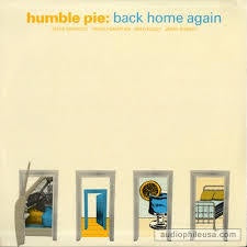HUMBLE PIE-BACK HOME AGAIN LP VG COVER VG+