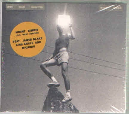 MOUNT KIMBIE-LOVE WHAT SURVIVES CD *NEW*
