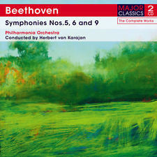 BEETHOVEN-SYMPHONIES NOS 5 6 AND 9 2CDS *NEW*