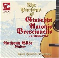 BRESCIANELLO GIUSEPPI ANTONIO- PARTITAS OF CD VG