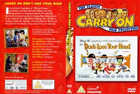 CARRY ON BUT DONT LOSE YOUR HEAD- DVD VG