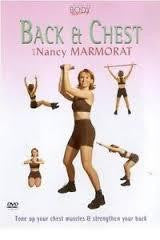 BACK AND CHEST WITH NANCY MARMORAT REGION 0 DVD M