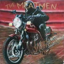 MEATMEN THE-WAR OF THE SUPERBIKES LP VG COVER VG+