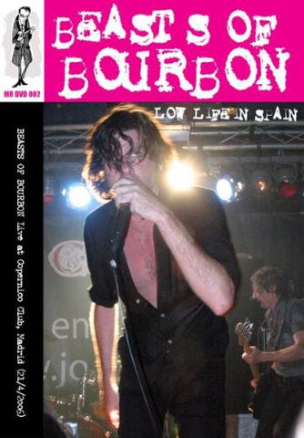 BEASTS OF BOURBON THE-LOW LIFE IN SPAIN DVD *NEW*